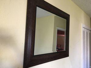 Free large mirror for Sale in Lauderhill, FL