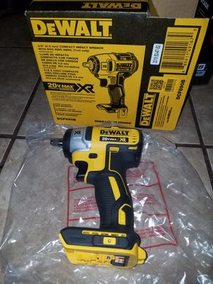 "DeWalt XR 3/8"" impact wrench (tool only) for Sale in Austin, TX"