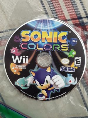 Sonic Colors Wii for Sale in Grape Creek, TX