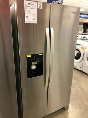 <//>New whirlpool stainless steel side by side refrigerator #//#️ for Sale in Chandler, AZ