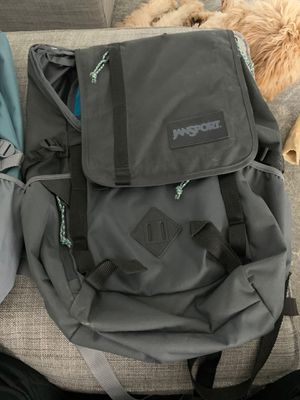 Two Jansport Backpacks (new) and one lunch box (like new) for Sale in Portland, OR
