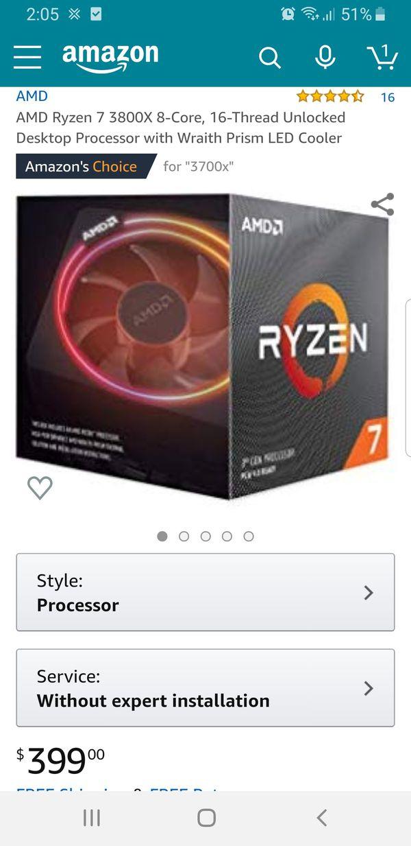 Amd Ryzen 7 3800x 8 Core For Sale In Orlando Fl Offerup