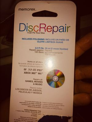Disc repair kit for Cd for Sale in Riverside, CA