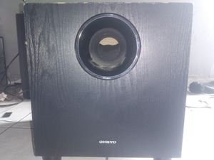 Onkyo subwoofer for Sale in Montebello, CA