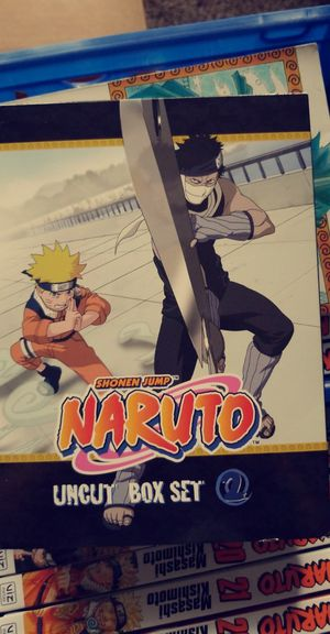 Naruto Boxset for Sale in US