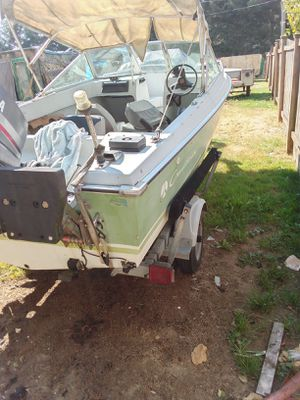 Boat motor trailor runs for Sale in Everett, WA