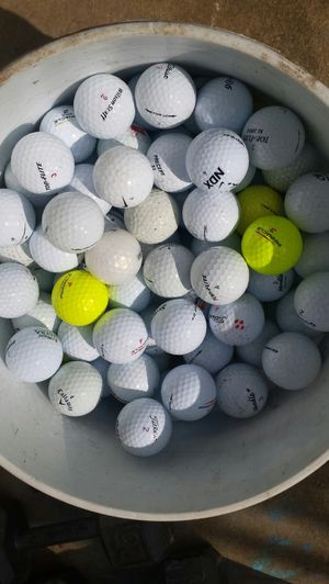 Tub of Golf Balls for Sale in Fairfax, VA