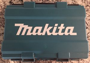 Makita XPH012 18V Hammer Drill Case Box Fits XPH01 LXFD01 XFD01Z Case Only! for Sale in S CHEEK, NY