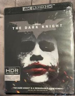 The Dark Knight 4k Blu-ray DVD new sealed for Sale in Buena Park,  CA