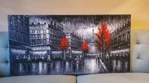 4 foot original Paris Painting for Sale in Fountain Valley, CA