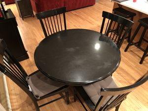 Black Kitchen Table set for Sale in Bothell, WA