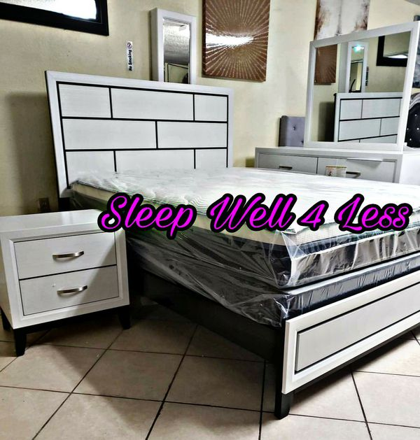 NEW💥QUEEN BED💥MATTRESS INCLUDED💥IN STOCK💥💥