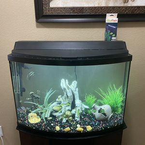 42 Gallon Aquarium With Heater, Filter, And Supplies $100 for Sale in Houston, TX