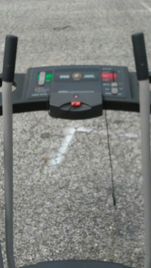 Proform treadmill monitors and keep track of your progress get in shape lose weight or both ideal for cardio or strength training delivery is possible for Sale in Philadelphia, PA