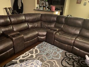 Recliner Sectional Electric for Sale in Alexandria, VA