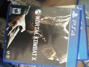 Mortal Kombat ps4 for Sale in Cobbtown, GA