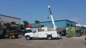 1994 Ford F450 7.3 Crane Body! Diesel Mechanic Owned! VIDEO! - $10995 for Sale in Elgin, IL