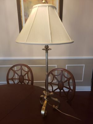 Pair of Brass Lamps for Sale in Fort Lauderdale, FL