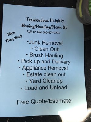Clean up for Sale in Dallas, TX