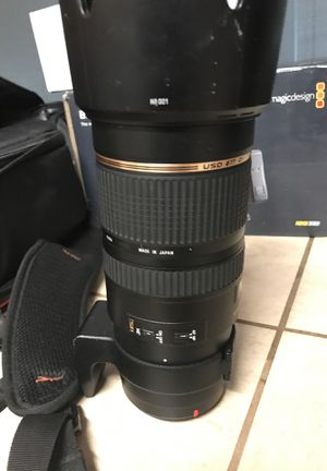 Tamron sp 70 200mm 2.8 Ef mount for Sale in Pismo Beach, CA