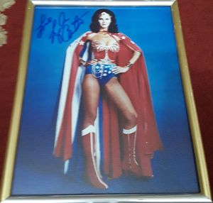 "Wonder Woman signed 8""x10"" hi-gloss photo stunning gorgeous Lynda Carter, Selling only $100 / Make an offer for Sale in Long Beach, CA"
