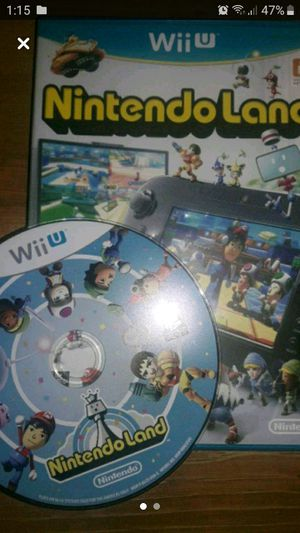 Wii u Nintendo land for Sale in Houston, TX