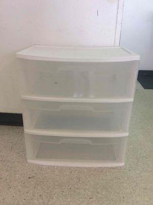 Plastic drawer for Sale in Miami Gardens, FL