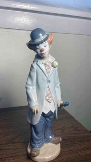 Vintage Lladro Figurine Clown with Violin #5472 for Sale in Niles, IL