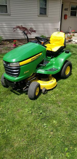 John Deere X300 Garden Tractor Riding Lawnmower for Sale in Wheaton, IL
