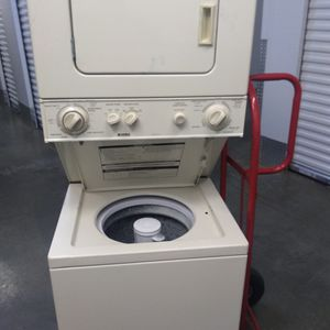 Kenmore 24inch Stacked Washer Dryer Combo Works Good 30 Day Warranty {contact info removed} for Sale in Fort Washington, MD