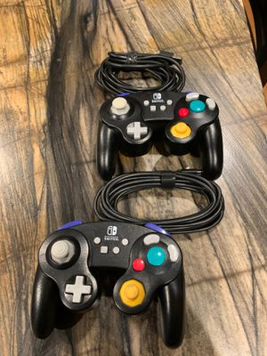 Nintendo switch controllers wired for Sale in Fresno, CA