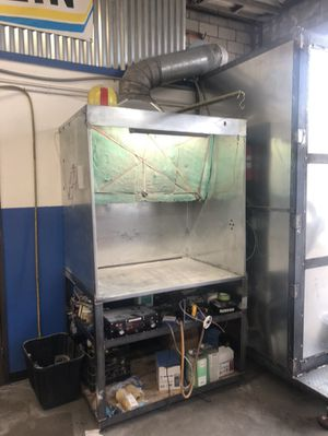Powder Coating Spray Booth for Sale in Pasadena, CA