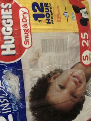 Huggies size 5 for Sale in Des Plaines, IL