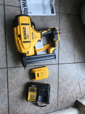 Dewalt nail gun finish for Sale in Philadelphia, PA