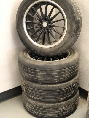 Size 18 wheels and tires for Sale in Wichita, KS