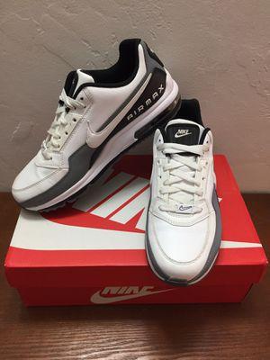 NIKE AIR MAX LTD 3 Mens Size 9 Shoes White Black Gray Sneakers 687977-119 for Sale in Honolulu, HI