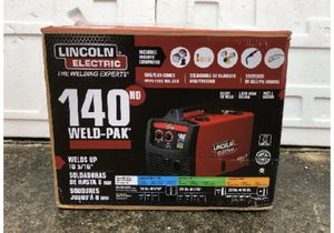 2 Lincoln 140 HD welders new TENGO 2 soldadoras nuevas 💯💯💯💯💯🔥🔥🔥🔥🔥🔥🔥🔥🔥🧠🧠🧠🧠 for Sale in West Covina, CA