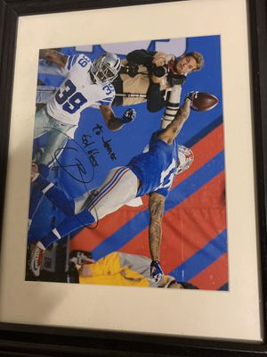 Authentic Famous One Handed Catch Picture Signed By Odell Beckham Jr. for Sale in Saint Joseph, MO