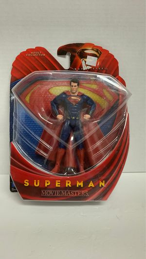 2013 Mattel Superman Man Of Steel Collectible Action Figure for Sale in Missouri City, TX