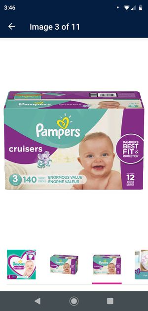 Pampers Diapers Sizes 1, 2, 3, 4 and 5 for Sale in Mesa, AZ