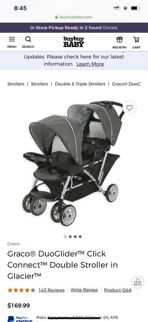 Graco DuoGlider Double Stroller | Lightweight Double Stroller with Tandem Seating NEW IN BOX for Sale in Cornelius, NC