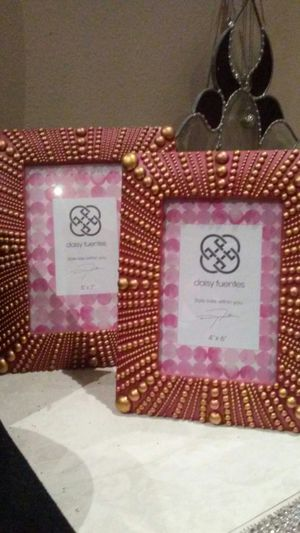 Used, Daisy Fuentes Picture Frames for Sale for sale  Lake Elsinore, CA