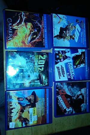 6 blu-ray movies for Sale in Columbus, OH