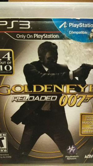 GoldenEye reloaded 007 ps3 for Sale in Moreno Valley, CA