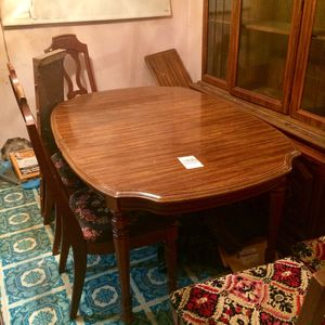 Solid Wood Dining Room Table And Chair Set for Sale in Cupertino, CA