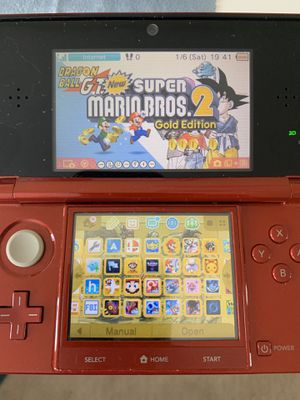 Nintendo 3DS modded with many games for Sale in Irvine, CA