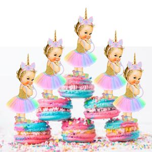 Unicorn Babies Pastel Colors Cutout Cupcake Toppers for Sale in Clarksburg, MD