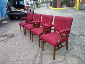 (4) Vintage Mid Century Modern Chairs - Made in High Point, NC! for Sale in Raleigh, NC