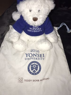 University teddy bear for Sale in Costa Mesa, CA