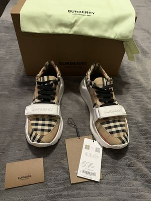 Burberry sneakers for Sale in Parlier, CA